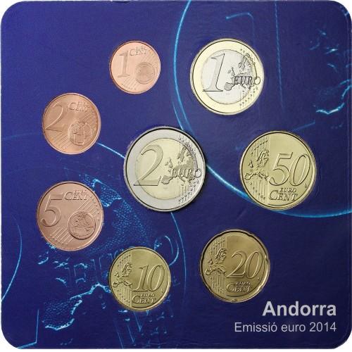 andorra coin set