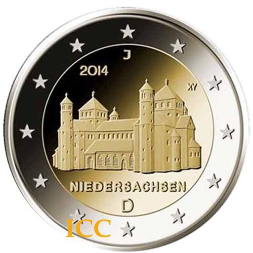 Alemanha 5x2€ 2014