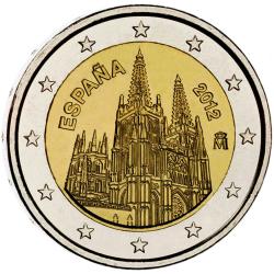 Espanha 2€ 2012 Burgos