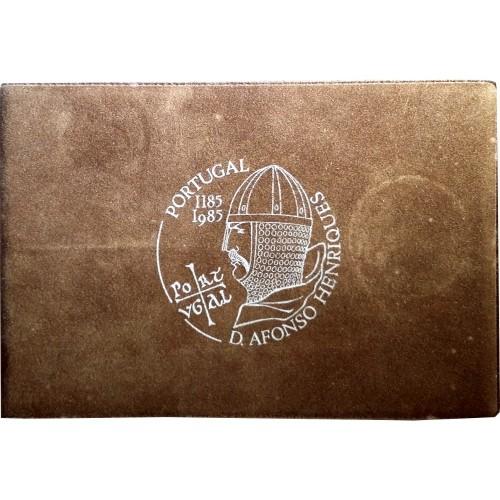 "Carteira BNC 100$00 1985 ""D. Afonso Henriques"""