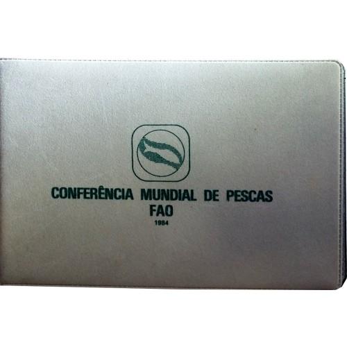 """Carteira B.N.C. 250$00 1984 """"F.A.O. Pescas"""""""