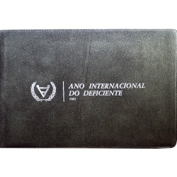 """25$00 & 100$00 1981 Bu Coins """"Disable Internacional Year"""""""