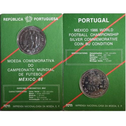 BNC 100$00 México 86
