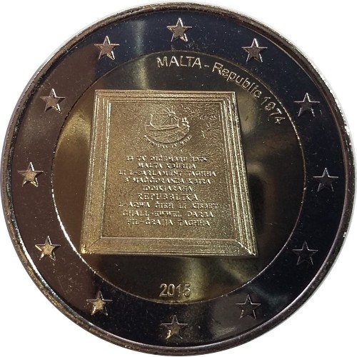 Malta 2,00€ 2015 (República 1974)