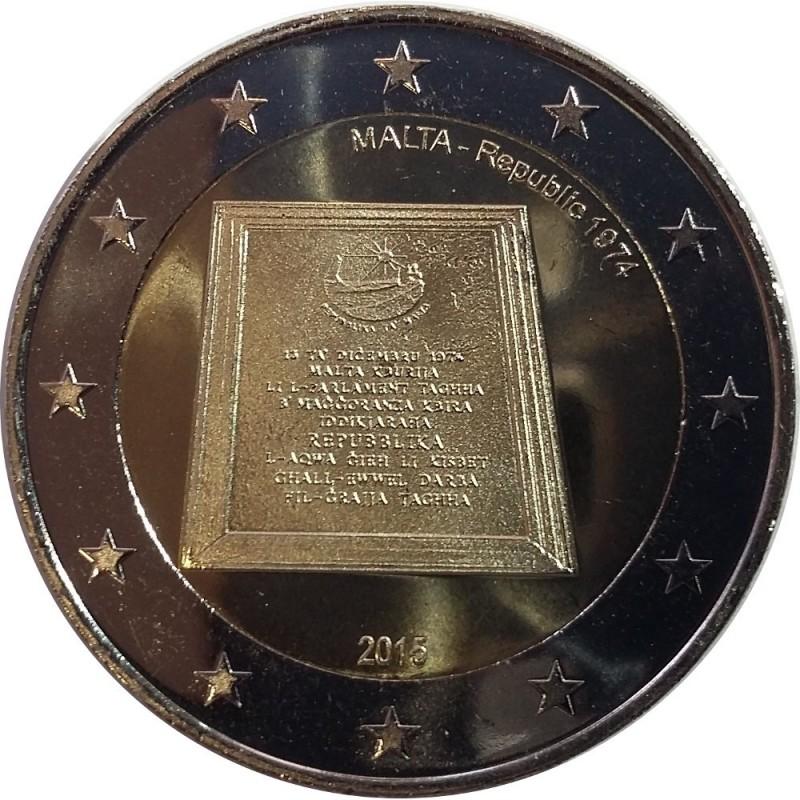 Malta 2,00€ 2015 (First flight of Malta Aviation centenary )