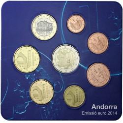 Andorra 2014 - 8 Moedas (Série Residente)
