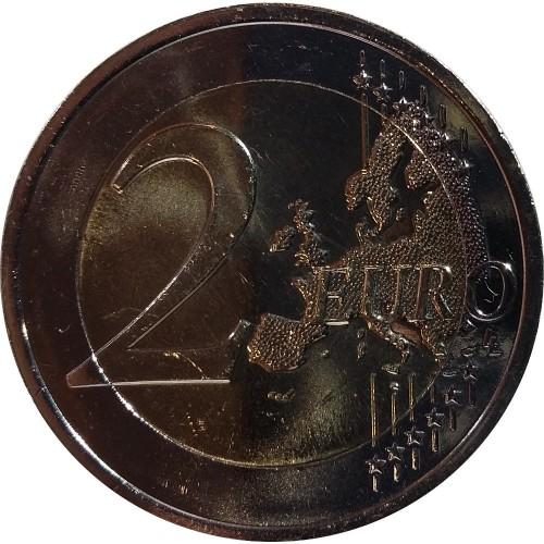 Ireland - 2€ 2015 30 Years of Europe Flag