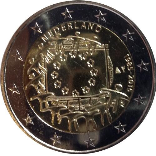 Holanda - 2€ 2015 30 Anos Bandeira da Europa
