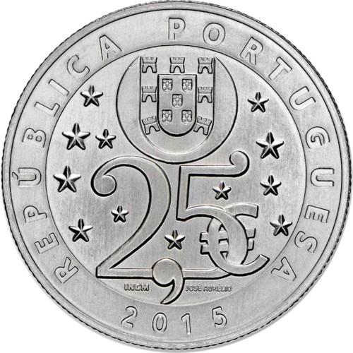Portugal  - 2.50€  2015 Prata Proof (ALTERAÇÕES CLIMÁTICAS)