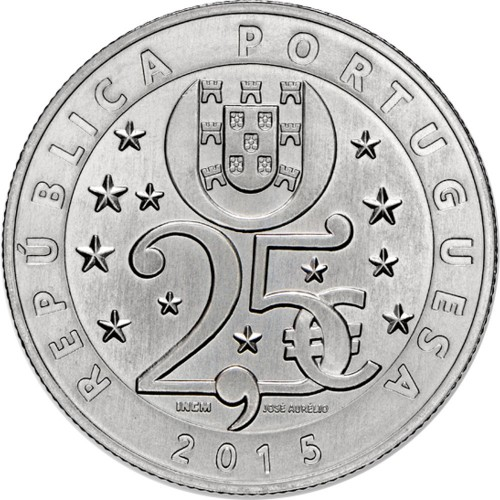 Portugal - 2.50€ 2015 Proof (CLIMATE CHANGE)