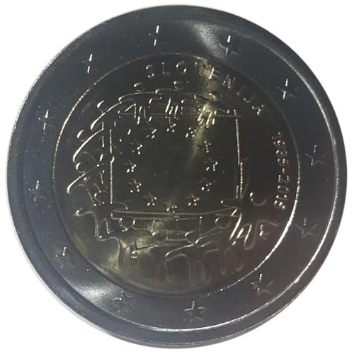 Eslovenia 2€ 2015 (30 Anos Bandeira da Europa)