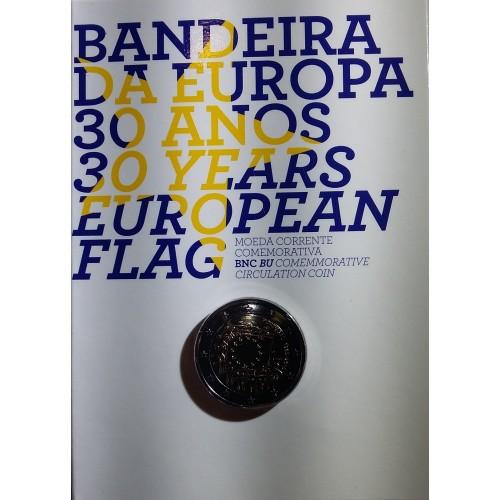 Portugal 2€ 2015 B.N.C. (30 ANOS DA BANDEIRA DA EUROPA)