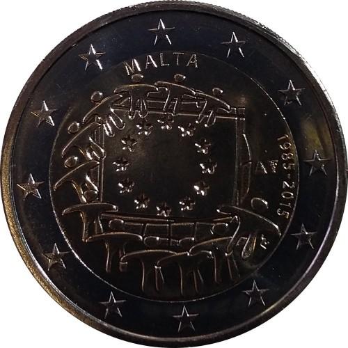 Itália 2€ 2015 (30 Anos Bandeira da Europa)