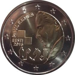 Estónia 2€ 2016 (Paul Keres)