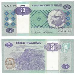 Angola 5 Kwanzas 2011