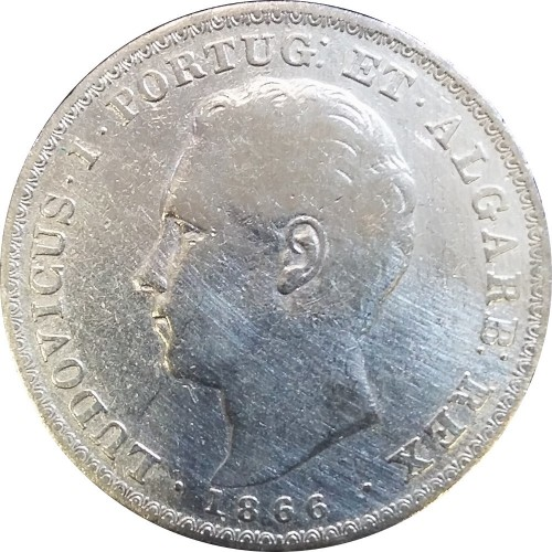 D. Luís I 500 Reis 1886