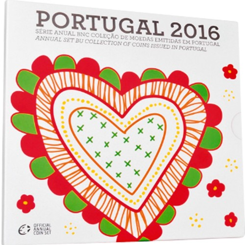 Portugal 2016 ANNUAL SERIES - Bu SET