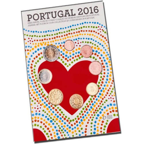 Portugal 2016 ANNUAL SERIES - FDC SET