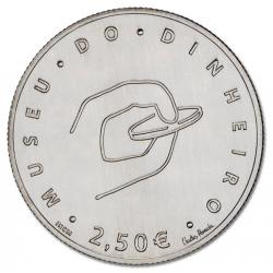 Portugal  - 2.50€  Museu do Dinheiro 2016