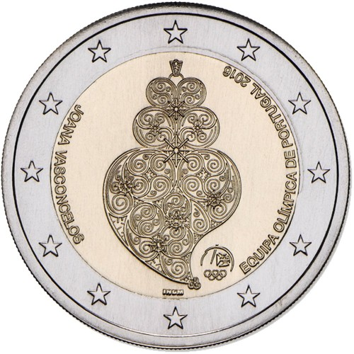 Portugal - 2,00€ 2016 (E. OLÍMPICA P.) Proof