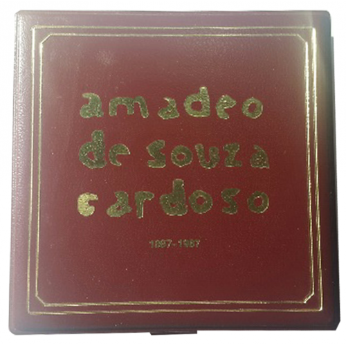 Proof 100$00 Amadeu de Sousa Cardoso 1987