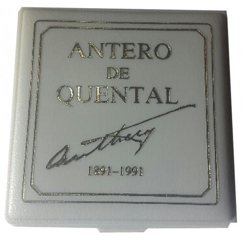 Proof 100$00 Antero de Quental 1991