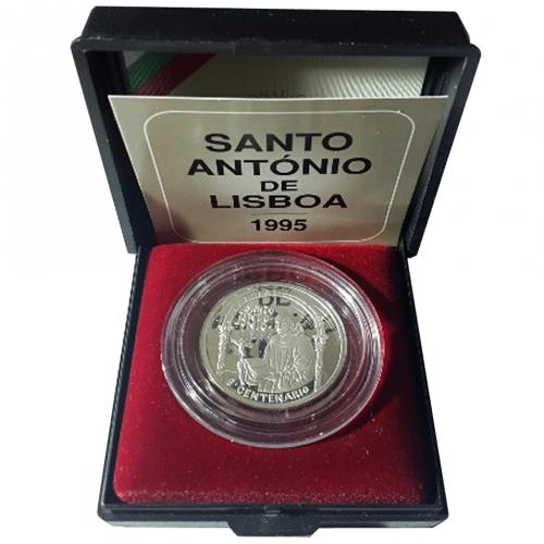 Proof 500$00 Saint Antony of Lisbon 1995