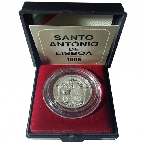 Proof 500$00 Stº António de Lisboa 1995