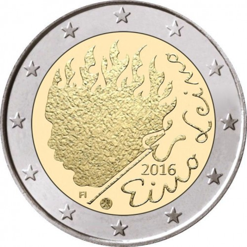 Finland 2€ 2015 30 Years of Europe Flag