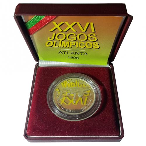 Proof 200$00 Atalanta XXVI Olympic Games 1996