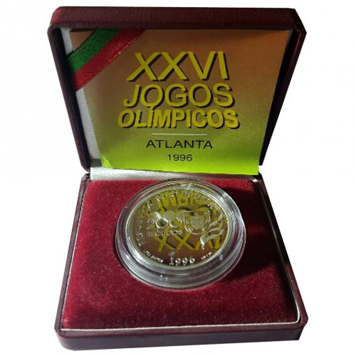 Proof 200$00 Jogos Olímpicos de Atalanta 1996