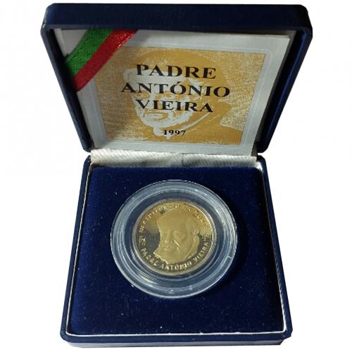 Proof 500$00 Padre António Vieira  (Lamelar) 1997