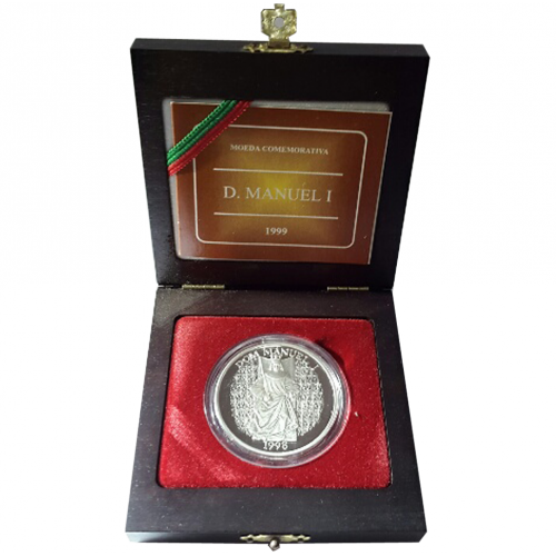 Proof 1.000$00 D.Manuel I, the King