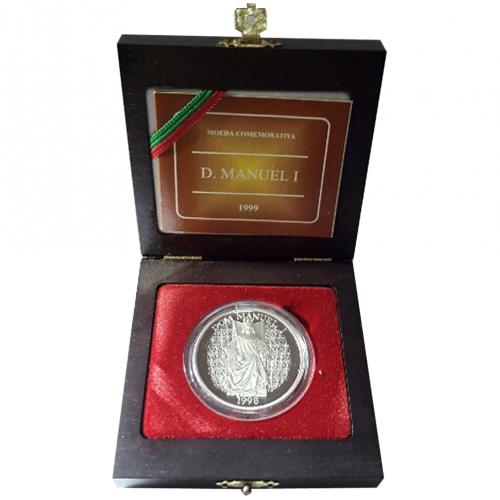 Proof 1.000$00 Rei D.Manuel I 1998
