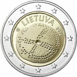 Lituânia 2€ 2016 (A Cultura do Báltico)