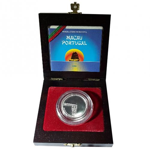 Proof 500$00 Entrega de Macau à China 1999