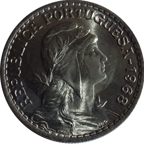 1 Escudo 1968