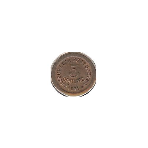 5 Centavos 1927