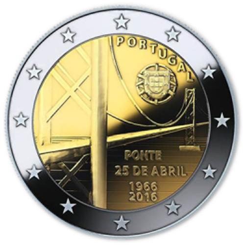 Portugal - 2,00€ 2016 (60ºAniv. da Ponte 25 de Abril)