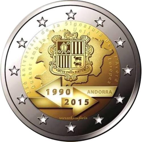 Andorra 2€ 2014