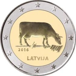 Latvia 2€ 2016 (Agrarian Industry)