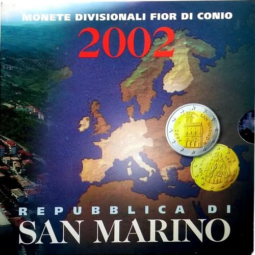 San Marino 2002 Bu Set
