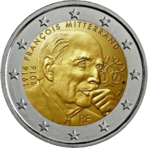 França 2€ 2016 (François Mitterrand)