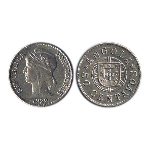Angola 50 Centavos 1922