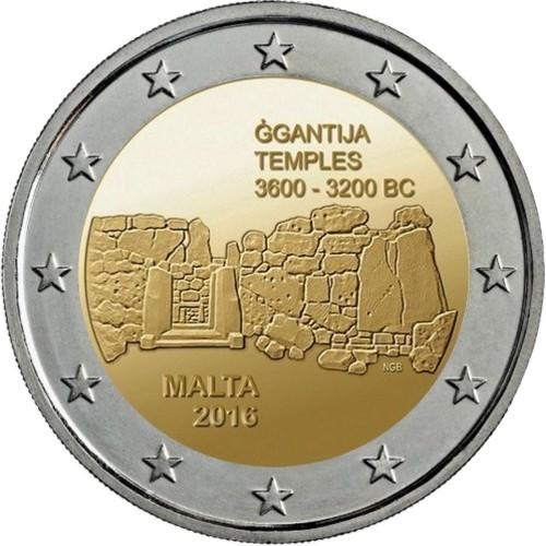 Malta 2€ 2015 (30 Anos Bandeira da Europa)