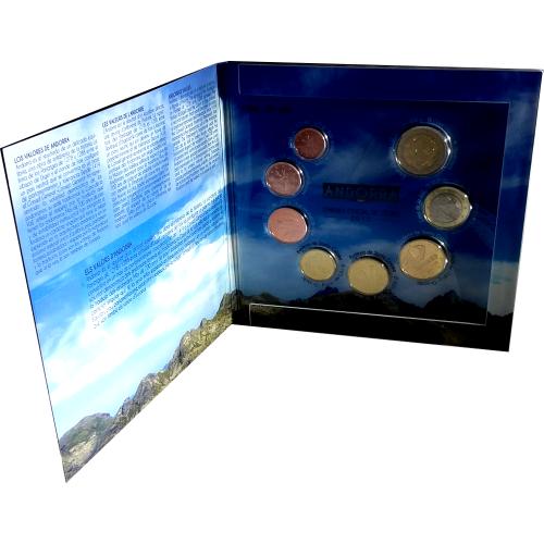 Andorra - 8 Coins (2015 BU Set )