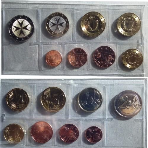 Malta 2016 (Série 8 moedas)