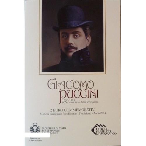 San Marino - 2€ 2014 (G. Puccini)
