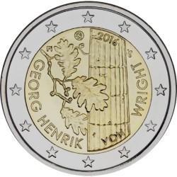Finlândia 2€ 2016 (Georg H. Von Wright)