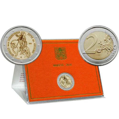Vaticano 2€ 2016 Ano da Misericórdia